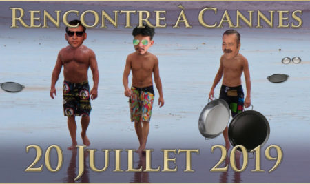 """Soirée """"Blitzstream"""" sur la plage à Cannes le 20 Juillet avec Vlad"""