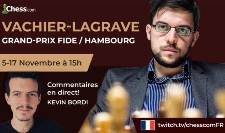 Grand Prix FIDE Hambourg – Maxime vers les Candidats ?
